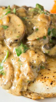Chicken and Mushroom Fricassee