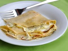 Gluten free buckwheat pancakes with zucchini - Crespelle di grano saraceno alle zucchine, senza glutine