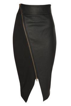 falda con corte asimetrico a un costado - Buscar con Google