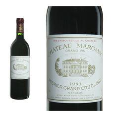 Château Margaux 1982 desde $1,877.81 (1.395,00€) ¡Sólo quedan 4 botellas!