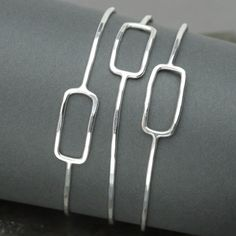 Hey, I found this really awesome Etsy listing at https://www.etsy.com/listing/204977411/bangle-set-set-of-three-sterling-silver
