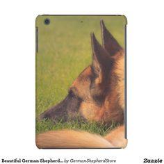 Beautiful German Shepherd in the Summer iPad Mini Cover