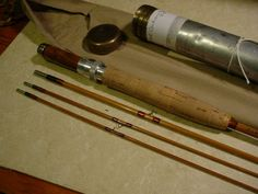 Dickerson 70138, 7', # 4 line, 3-piece, 2 tips, 2012,5,19-Bamboo Fly Rod…