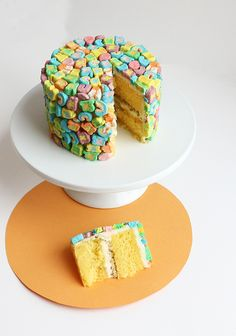 Lucky Charms Cake - St Patrick's Day