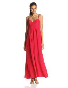 Silk Gown Maxi Dress by Amanda Uprichard