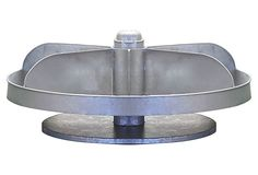 "20"" Rotating Hardware Bin, Silver on OneKingsLane.com"