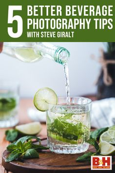 Steve Giralt shares his tips on how to upgrade your beverage photos and videos, from lighting techniques to food styling.