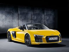 The convertible lets you hear the naturally aspirated V10 all the better.
