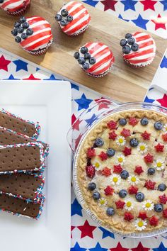 4th of July Food Ideas That Will be a Huge Success at Your Patriotic Party! These 4th of July desserts are easy, delicious, and perfectly patriotic! #4thOfJuly #4thOfJulyFood
