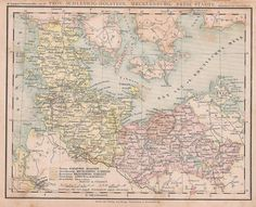 Items similar to Antique 1874 Map of Denmark and Others In German Language on Etsy Dutch Colonial Homes, Denmark Map, German Language, Vintage World Maps, Room Decor, Antiques, Handmade Gifts, Etsy, Dutch Colonial Houses
