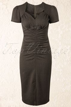 Stop Staring! - 50s Orla Bow Pencil Dress