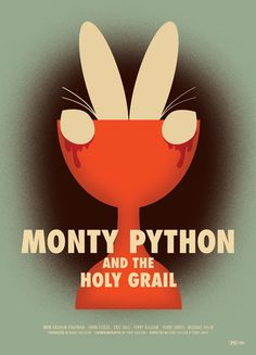 Monty Python and the Holy Grail: publicity poster redesigned