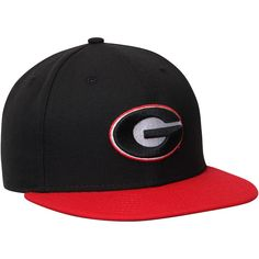 d048f205867 New Era Georgia Bulldogs Black Red Basic 59FIFTY Fitted Hat