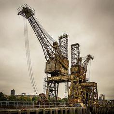 Cranes at Battersea Power Station © Dutourdumonde Photography