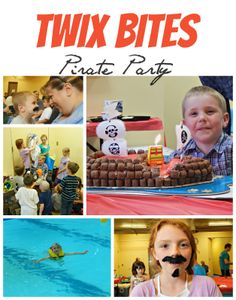 Turn a themed party into something even more with a themed treat! This Pirate Party was turned into a TWIX Bites Pirate Party when special cookies, ice cream, even a cake was adorned with the treats! #eatmorebites #collectivebias #shop
