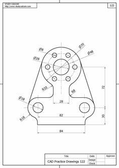 mechanical autocad drawing