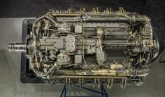 Napier Sabre IIA Horizontally-Opposed 24 Engine; at National Air and Space Museum.  Not on display.