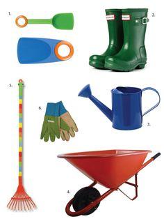 Gardening tools for kids--love the @Sharon Macdonald Macdonald Avey tool kit!