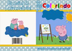 Fazendo a Propria Festa: Livrinho Lalaloopsy, George Pig Party, Mickey Mouse, Family Guy, Guys, Fictional Characters, Party Things, Birthday Party Ideas, Ideas Party