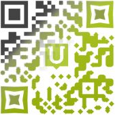 Create QR codes with style!  Add colors, gradients, shapes and logos.  NOTE: Site is in French, but using Google Chrome gives you an instant translation option.