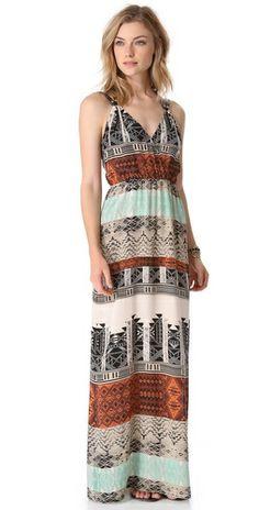 Twelfth St. By Cynthia Vincent Palma Maxi Dress
