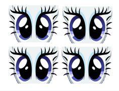 Pony Eyes Printable