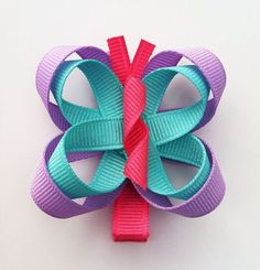 Hot Pink Lavender and Turquoise Butterfly Ribbon by leilei1202,#Repin By:Pinterest++ for iPad#