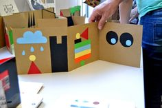 milimbo: 3D fold-out books #papercrafts