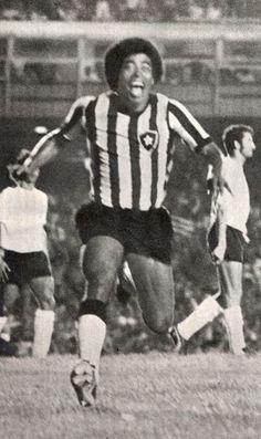 """""""Jairzinho"""" Jair Ventura Filho (Botafogo FeR, 1959–1974, 413 apps, 186 goals + 1981–1982)"""