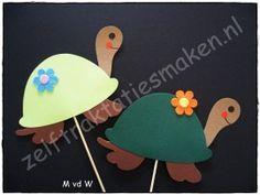 Schillie de Schildpad | Dierentuindieren | Zelf traktaties maken