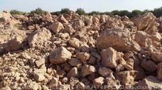piedras caliza son cuidadosamente seleccionadas por un tadelakt cal con capacidad