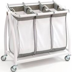 Large Laundry Sorter Wayfair Basics Wayfair Basics 3 Bag Laundry Sorter  Laundry Sorter