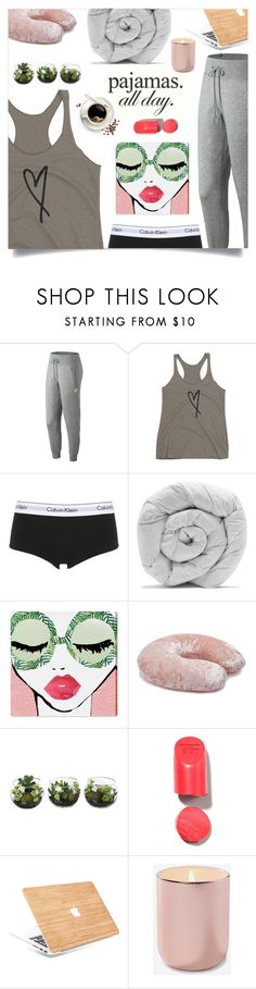 """""""PJs All Day: Lovely Loungewear"""" by shop77spark ❤ liked on Polyvore featuring New Balance, Calvin Klein Underwear, M&Co, Oliver Gal Artist Co., Forever 21 and LovelyLoungewear"""
