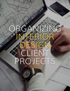 Keeping client paperwork organized can be one of the most important things in your interior design business. Here is how a real interior designer keeps her interior design clients organized. #interiordesignbusiness #cktradesecrets