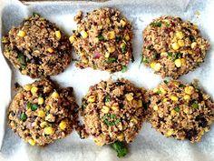 Food, Love, & Life: {recipe} quinoa black bean veggie burgers