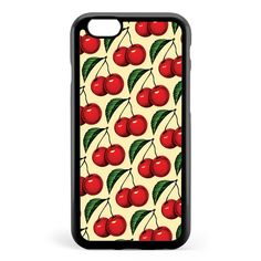 Cherry Pattern Apple iPhone 6 / iPhone 6s Case Cover ISVG038