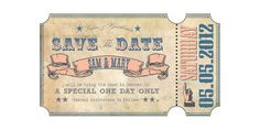 Save The Date Inspiration  Etsy User: LawStudentCrafts  http://www.etsy.com/listing/102431520/circus-invite-pdf