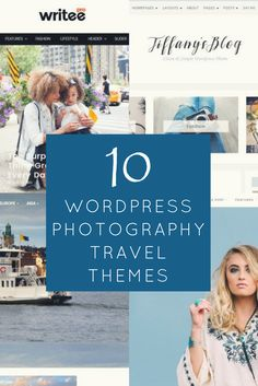 Whether your current WordPress photography travel blog needs a new look or you are just starting your travel blog, take a look at these 10 amazing themes. With the click of a button, you can switch out your theme, and present a fresh style to your readers. These themes include great features and custom pages. Photography Themes, Travel Photography, Travel Themes, New Look, Traveling By Yourself, Wordpress, Fresh, Button, Amazing