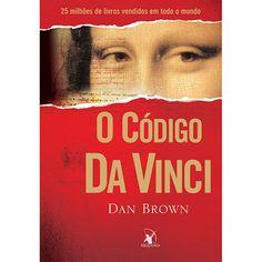 Mosaico de livros : O Código da Vinci