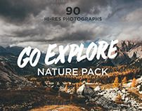 Go Explore Nature photo pack by Madebyvadim