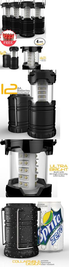 Lanterns 168867: 4 Portable Collapsible Tactical Led Lanterns Taclight Camping Lamp As Seen On Tv -> BUY IT NOW ONLY: $31.16 on eBay!