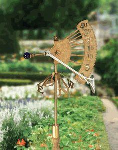 Windgauge in Designing a Kid's Weather Station Garden and homeexterior