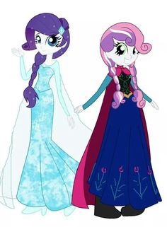 Frozen and my little pony. Loving edits!!!