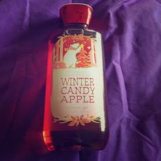 Winter candy apple shower gel Bath and body works holiday collection: winter candy apple Bath & Body Works  Other