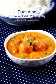 Dum aloo is a restau
