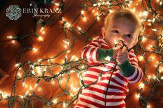 Cute Christmas photo idea