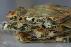 Best Ever Spinach & Feta Börek! Including an innovative way to roll the thinnest, most amazing, homemade filo/phyllo pastry.