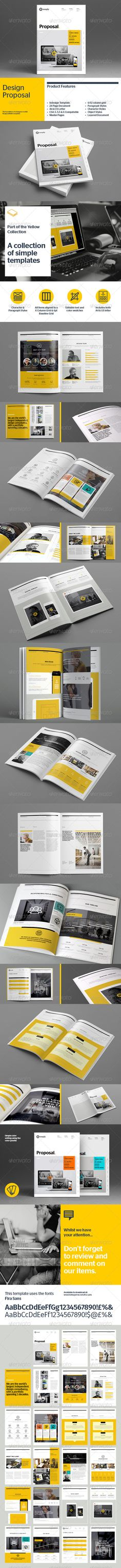 Agency Proposal Template Proposal templates, Proposals and - graphic design proposal template