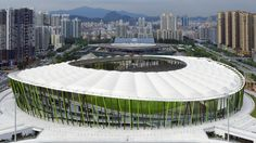 Universiade Sports Center and Bao'an Stadium | ArchiTravel