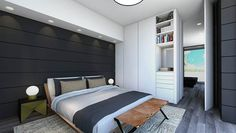 Today, we went literal - we bring you inspirations for your home! We chose among the best interior designers. Here are some awesome interior design projects! Top Interior Designers, Best Interior Design, French Interior, Awesome Bedrooms, Modern Bedroom, Master Bedroom, Design Projects, Luxury Homes, Bedroom Designs